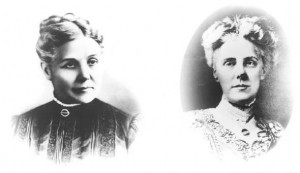 Ann Jarvis (left) & daughter Anna