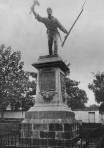 Juan Santamaría statue, Costa Rica