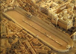 recreation of Circus Maximus