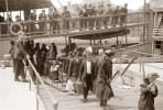 Emigrants Arriving at Ellis Island