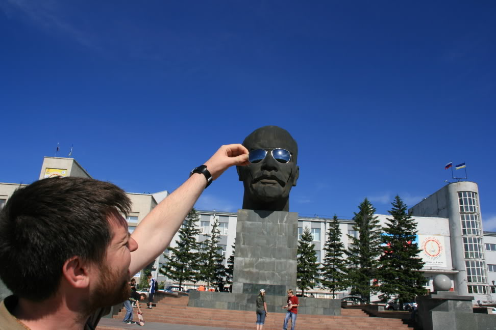 Lenin with Sunglasses