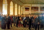National Constitution Assembly of 1848, by Constantin Hansen