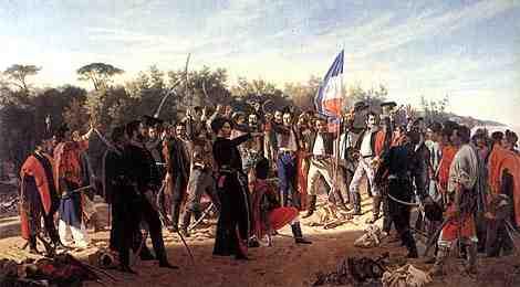 Oath of the 33 Orientals - Juan Manuel Blanes