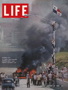 very low-res cover of Life Magazine, 1/24/64, © Life Magazine