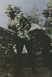 Mustafa Kemal Ataturk at Gallipoli, 1915