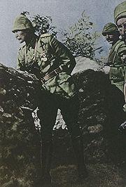 Mustafa Kemal Ataturk at Gallipoli, 1915