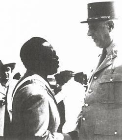 Boganda and De Gaulle