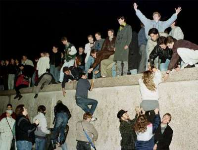 Fall of the Berlin Wall, Nov. 9, 1989