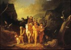 Daniel Boone Escorting Settlers the Cumberland Gap, Caleb Bingham, 1851
