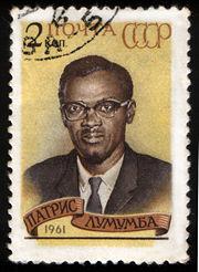Patrice Lumumba, USSR stamp, 1961