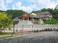 Sacred Tooth Temple, Kandy, Sri Lanka