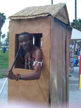 The Bushman of Venice Beach