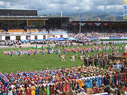Naadam ceremony 2006, photo by Vidor