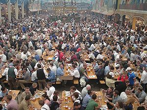 Hofbrauhaus Tent
