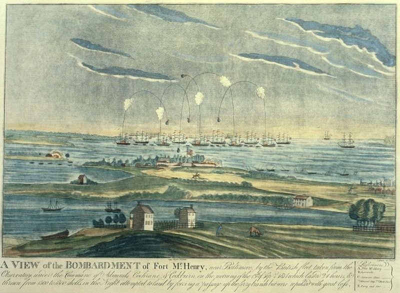 Bombardment of Fort McHenry, 1814