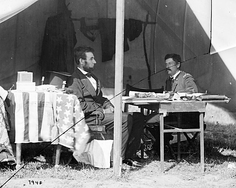 Lincoln and McClellan, two weeks after Antietam
