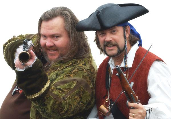 Capn Slappy & Ol Chumbucket