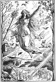 Ostara, by Johannes Gehrts (1884)