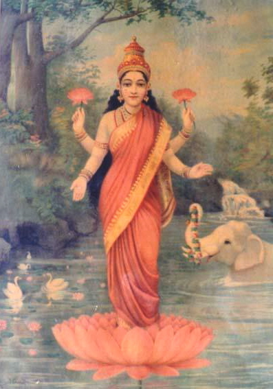 Lakshmi, Goddess of Good Fortune