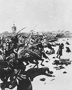 Depiction of Bloody Sunday