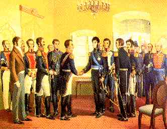 interview between simon bolivar and jose It is unsurprising that chávez publicly considered him a hero, and often drew comparisons (both direct and indirect) between himself and el libertador instead of spanish colonialism, chávez fought against the economic domination of the united states.